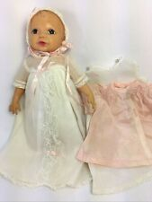 "Linda Baby Terri Lee Doll 10"" Vintage 1950's w Christening Outfit Tagged Clothes"