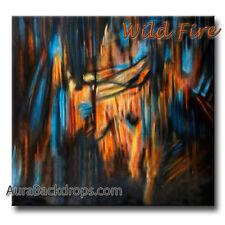 10x20 Muslin Photography Background Backdrop Wild Fire