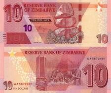 ZIMBABWE - 10 dollars 2020 - FDS UNC