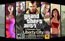 Grand Theft Auto IV: Complete Edition PC [Steam Key] No Disc