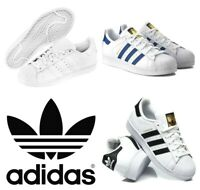 Adidas Kids Originals Superstar Trainers Unisex Juniors Casual Leather Shoes