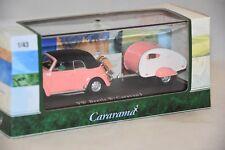 CARARAMA 147-006 - Volkswagen Beetle avec caravane    1/43