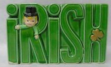 New Listing1978 Vintage Enesco Irish Planter with Boy & Shamrock t360