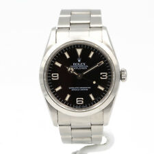 ROLEX EXPLORER STAINLESS STEEL MENS CHRONOMETER WATCH OYSTER PERPETUAL NR #4293