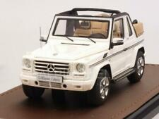 Mercedes G500 Cabriolet Final Edition 2019 White open roof 1:43 GLM GLM207103