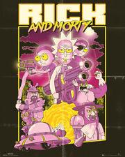 Rick and Morty Cast Mini Poster 40x50cm Rick Sanchez Meeseeks Picture Print