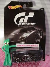2016 GRAN TURISMO Hot Wheels #3 FORD GT LM☆Black; white 4; pr5 spoke☆
