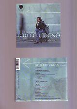 livret + dos du boitier de cd Toto cutugno ( pas de cd en vente  ici )