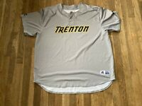 #68 Team Issued Trenton Thunder Road Gray Jersey Yankees
