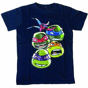 Teenage Mutant Ninja Turtles - Blue Faces T-Shirt Bambino Tg. M