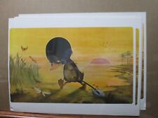 Melvyn Grant Vintage The Ugly duckling animation Poster Inv#G2027