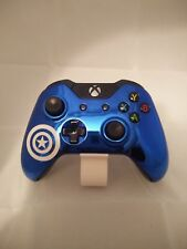 Brand New Xbox One Custom Captain America Chrome Blue Front Shell Hydrodipped