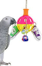 813 SPIN SNEAKER BIRD TOY parrot cage toys cages african greys conures amazons