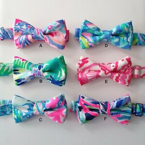 Colorful Boys Bow Ties, Cotton, Size 2 to 6 years