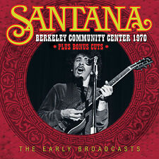 SANTANA New Sealed 2017 UNRELEASED 1970 BERKELEY CENTER LIVE CONCERT CD