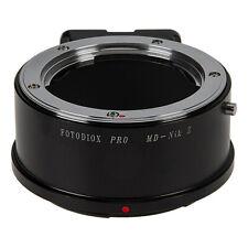 Fotodiox Pro Lens Adapter Minolta MD Lens to Nikon Z-Mount Z6 and Z7