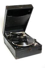 Vintage Linguaphone Portable Wind up Gramophone [5541]