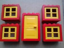 Lego porte et 4 windows set