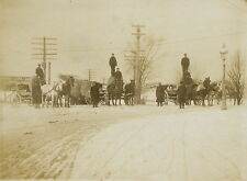 BURNET & LEWIS LUMBER CO. ~ HORSE AND WAGONS ~ INDIANAPOLIS, INDIANA ~ c. - 1910
