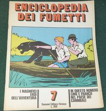 ENCICLOPEDIA DEI FUMETTI #7 ITALIAN COMIC CARTOON MAGAZINE FINE 1970