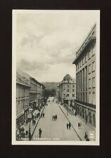 Czechoslovakia Slovenia LJUBLJANA Aleksandrova cesta c1920/30s? RP PPC