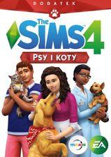 PSY I KOTY DODATEK DO THE SIMS 4 PC DVD PL POLSKI POLSKA WERSJA POLISH NOWA