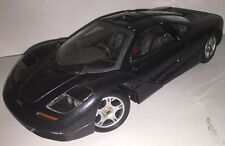 McLAREN F1 1993 by MAISTO Charcoal Diecast Car Model Mini Scale 1 / 18 Used