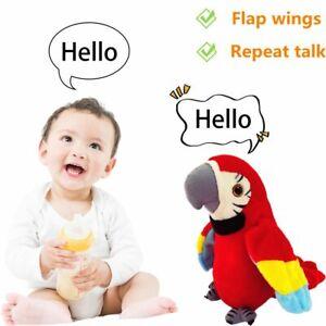 Talking Toy Education Toys Talking Parrot Stuffed Plush Electric Talking Bird