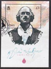 Jersey 2014. 450th Birth Anniversary of William Shakespeare  MS1823 F/U