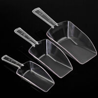 3Pcs/Lot Plastic Clear Ice Sugar Scoops For Wedding Buffet Bar Sweet Candy Favor