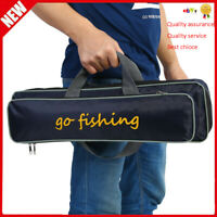 Lightweight Fishing Rod Reel Bag Carrying Single Shoulder Case Storage Pouch MF