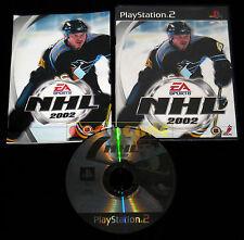 NHL 2002 Ps2 Versione Ufficiale Italiana 1ª Edizione ••••• COMPLETO