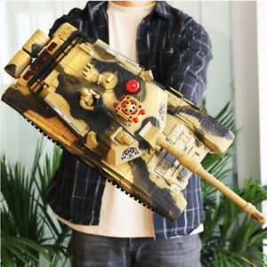 4WD RC Monster Truck Off-Road Vehicle  Remote Control Tank Crawler Toy