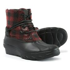 New Women`s Sperry Saltwater Wedge Tide Duck Boots STS99995, STS80844