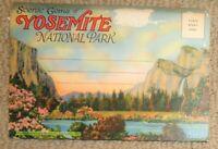 CALIFORNIA Postcard Folder - Scenic Gems Of Yosemite National Park 18 Views EA