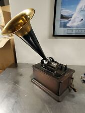 Antique Edison Standard Cylinder Phonograph working
