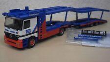 "Herpa - MB Actros `96 Autotransporter ""Richard Lawson"" - Nr. 146463 - 1:87"