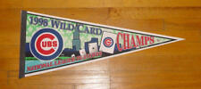 1998 Chicago Cubs Wild Card pennant 98 Playoffs Mark Grace Sammy SOSA Kerry Wood