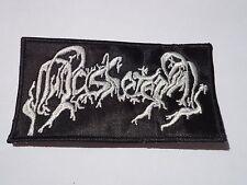 AASKEREIA EMBROIDERED LOGO BLACK METAL PATCH