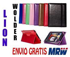 """FUNDA WOLDER MITAB LION 10,1"""" - MEDIDA ESPECIAL - 8 COLORES - UNIVERSAL"""