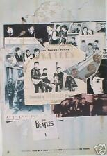"""BEATLES """"ANTHOLOGY 1 """"FEATURING FREE AS A BIRD"""" NEW ZEALAND PROMO POSTER"""