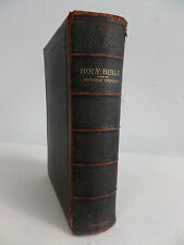 Antique Holy Bible Cambridge University Press Printed by C.J. Clay, M.A and Son