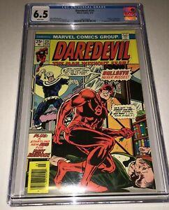 Daredevil #131 CGC 6.5 FN+ White Pages Marvel 1976 1st Bullseye