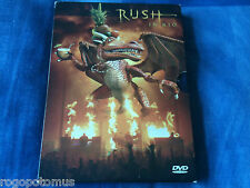 RUSH in RIO (2003 2-Disc DVD in Gatefold case and slipcase) Lee Lifeson Peart