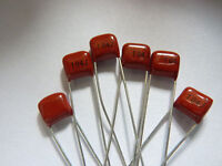 20pcs 100V 104 J 0.1uf 100nf 100000pf P5 CL21X CBB metal film capacitor