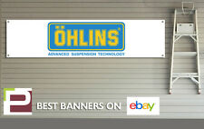 Ohlins Suspension Banner for Workshop, Garage, Office, Pit Lane, Motorsport