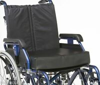 "Drive Vinyl Memory Foam Wheelchair Cushion 18"" Comfortable Waterproof"