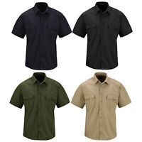 Propper Men's Kinetic Stretch Poly Cotton Ripstop Tactical Shirt - Short Sleeve