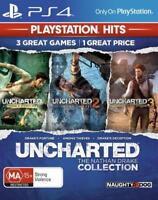 Uncharted The Nathan Drake Collection PS4 Playstation 4 Brand New Sealed