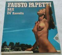 FAUSTO PAPETTI LP 24a RACCOLTA 33 GIRI VINYL 1977 ITALY DURIUM MS Al 77386 NM/NM